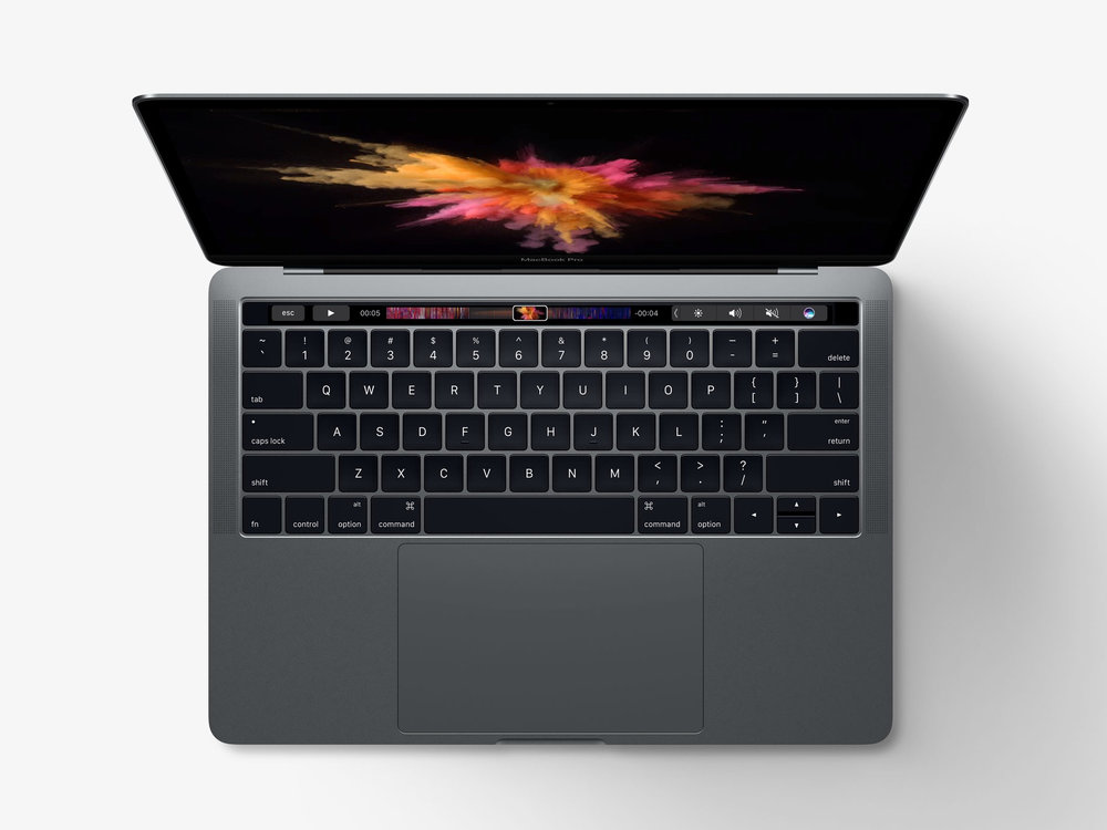 The new 13-inch MacBook Pro (with Touch Bar)